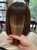 髪質改善Sトリートメント(髪型ボブ)