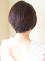 30代40代50代〜の大人ショート(髪型ショートヘア)