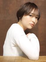 モテナチュラル大人ショートヘア(髪型ショートヘア)