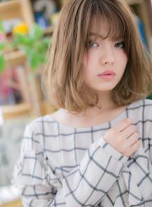 インナーカラーでスパイシー☆大人ミディ(ビューティーナビ)
