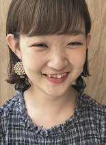 切りっぱなしの外ハネミニボブ☆(髪型ボブ)