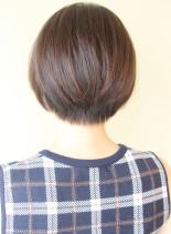 大人可愛いひし形ショートボブ(髪型ショートヘア)
