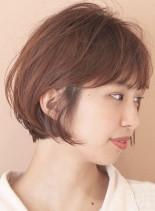 ゆるふわ☆美フォルム ショートボブ(髪型ショートヘア)
