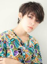 ヘルシーマッシュショート(髪型ショートヘア)
