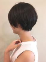 お勧め!乾かして決まる大人ショートヘア(髪型ショートヘア)