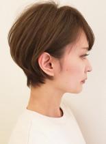 乾かすだけでボリュームUP☆美人ショート(髪型ショートヘア)