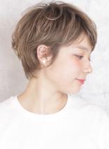 外国人風☆大人可愛いショートヘア(髪型ショートヘア)