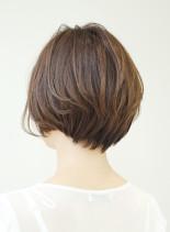 40代50代女性におすすめ髪型(髪型ショートヘア)