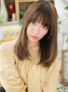 大人かわいい☆ツヤ感ニュアンスセミディ(ビューティーナビ)