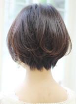 大人女性にオススメショートボブスタイル(髪型ショートヘア)