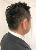 40代〜メンズビジネス好感度UPショート(髪型メンズ)