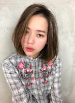 30代人気☆カジュアル美形ボブ(髪型ボブ)