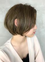 30代・40代 大人ショートボブ(髪型ショートヘア)