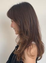 マッシュレイヤースタイル(髪型ロング)