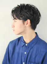 正統派メンズパーマ(髪型メンズ)
