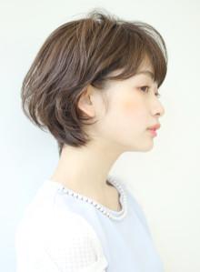 大人女性の横顔美人ショートボブ☆(ビューティーナビ)