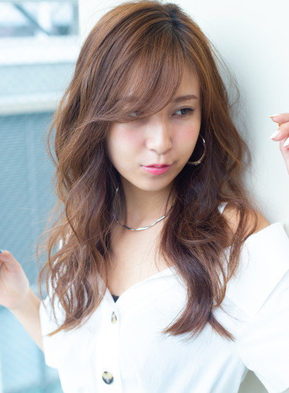 20代30代 ゆる軽ウェーブ(髪型ロング)