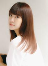 髪質改善 うるつやロング(髪型ロング)