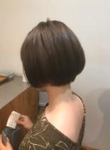 襟足スッキリミニボブ(髪型ショートヘア)