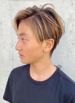 夏らしいハンサムショート(髪型メンズ)