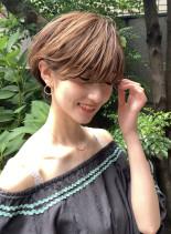 大人可愛い艶髪ショート(髪型ショートヘア)