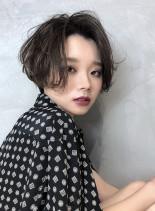 長めバング☆大人☆ハンサムショート(髪型ショートヘア)