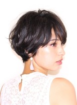 30代40代に人気な大人ショート(髪型ショートヘア)