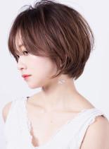 大人美人ヘア◇ボリュームupショート(髪型ショートヘア)