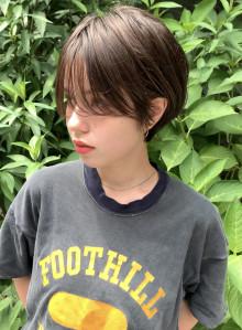 前髪長めの大人タイトショート(ビューティーナビ)