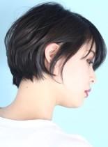 30代*40代大人の美シルエットショート(髪型ショートヘア)