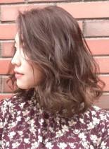 ボヘミアンカール(髪型ミディアム)