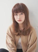 ☆ナチュラルな抜け感セミロング☆(髪型セミロング)