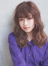 ☆大人かわいい波カールセミロング☆(髪型セミロング)