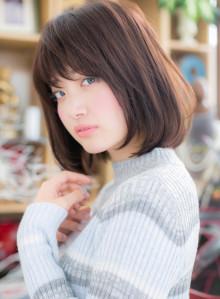 飽きない☆小顔ナチュラル艶ボブ(ビューティーナビ)