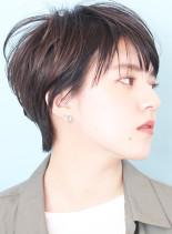 大人キレイなハンサムショートヘア☆(髪型ショートヘア)