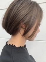大人シンプルボブ(髪型ボブ)