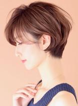 小顔なら大人スッキリショート◇(髪型ショートヘア)