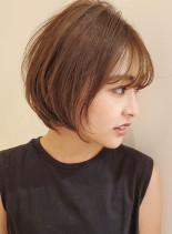 長めなら丸みショート◇(髪型ショートヘア)