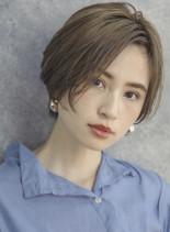 ショートエッセンス(髪型ショートヘア)