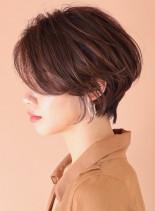 ストレートパーマ☆ショート(髪型ショートヘア)
