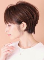 夏ならスッキリ耳かけショートがオススメ☆(髪型ショートヘア)