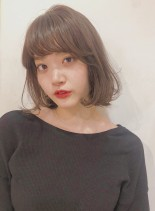 30代40代◎小顔 ひし形大人ボブ(髪型ボブ)