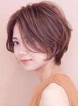パーマ人気No.1◇ふんわりシルエット(髪型ショートヘア)
