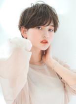 大人ハンサムショート(髪型ショートヘア)