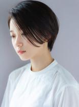 ジェンダーレスショート(髪型ショートヘア)
