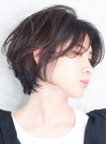 大人気☆横顔美人なショートボブ(髪型ボブ)