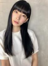 ナチュラル☆ロングストレート(髪型ロング)