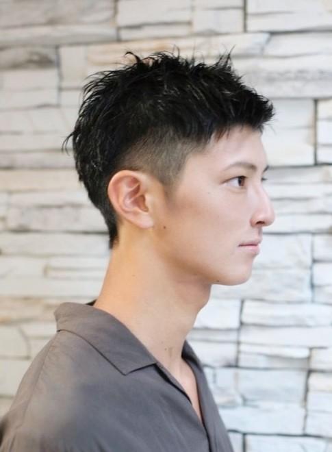 髪型 短髪 男性