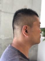 メンズベリーショート(髪型メンズ)