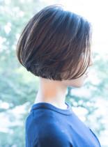 大人のグラデーションボブ(髪型ボブ)